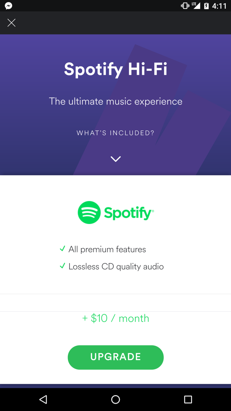 Spotify eyes lossless audio to wow your ears